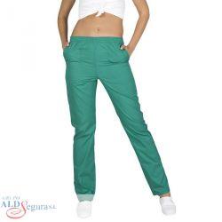 Pantalón de Sanidad con Botón Unisex 7733