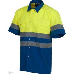 Camisa de Trabajo Alta Visibilidad C3810