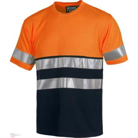 Camiseta Combinada Alta Visibilidad C3941