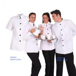 Chaqueta de Hostelería Mujer Cuello Mao 6201
