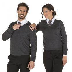 Jersey Cuello de Pico Mujer 1024