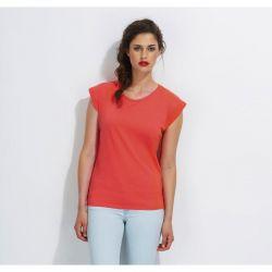 Camiseta de Mujer Cuello redondo SOL´S MELBA