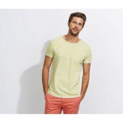 Camiseta de Rayas Marinero Hombre SOL'S MILES MEN