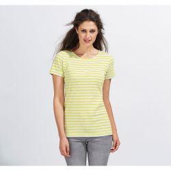 Camiseta de Rayas Marinero Mujer SOL'S MILES WOMEN