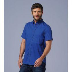 Camisa de Hombre Algodón Twill Manga Corta SOL´S BROOKLYN