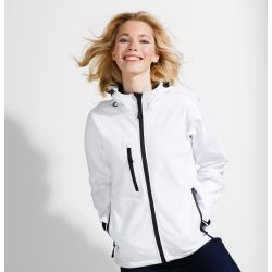 Chaqueta Impermeable Softshell Mujer SOL´S REPLAY WOMEN