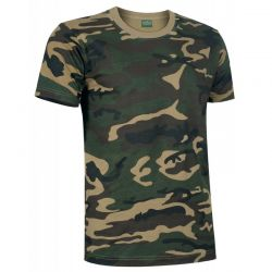 Camiseta de Caza Camuflaje VALENTO JUNGLE