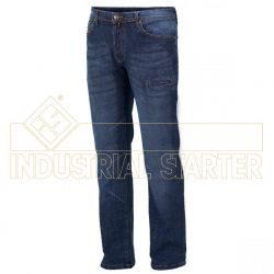 Pantalón Vaquero de Trabajo Tejido Elástico Industrial Starter 8025C