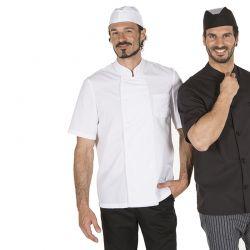 Chaqueta Cocinero Plana GARY'S 915 Blanco