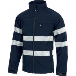 Chaqueta Laboral Workshell Impermeable WORKTEAM S9035
