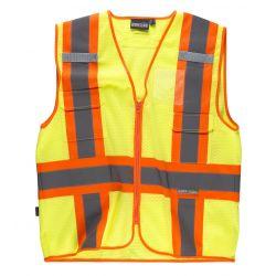 Chaleco de Trabajo Alta Visibilidad WORKTEAM C3623