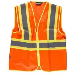 Chaleco de Trabajo Alta Visibilidad WORKTEAM C3620