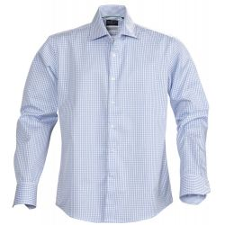 Camisa Popelín Estampado Cuadros Hombre James Harvest TRIBECA