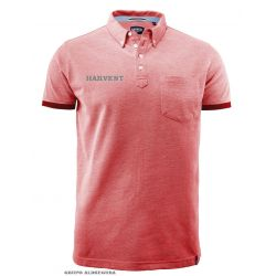 Polo Piqué Hombre Casual Logo James Harvest LARKFORD