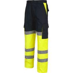 Pantalón Multibolsillos Combi Alta Visibilidad WORKTEAM C3214
