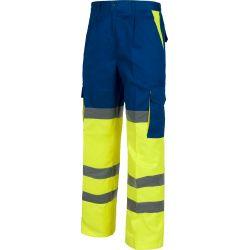 Pantalón Multibolsillos Alta Visibilidad WORKTEAM C3314