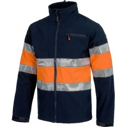 Chaqueta Laboral Workshell Alta Visibilidad WORKTEAM S9520