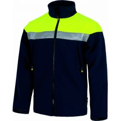 Chaqueta Workshell Impermeable Alta Visibilidad WORKTEAM S9505