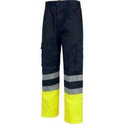 Pantalón Multibolsillos Alta Visibilidad WORKTEAM C4014