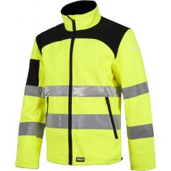 Cazadora Impermeable Workshell Alta Visibilidad WORKTEAM C2930