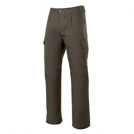 Pantalón Verde Caza Básico con Bolsillos VELILLA 345