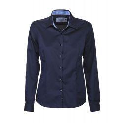 Camisa de mujer estilo moderno 100% algodón HARVEST RED BOW 20 2902003