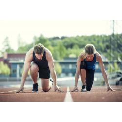 Medias para correr en tejido suave y elástico MIND CAPRI W CRAFT