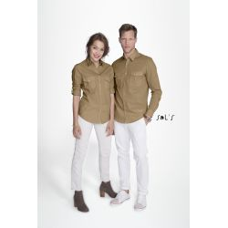 Camisa hombre 100% algodon SOL'S BURMA MEN 02763