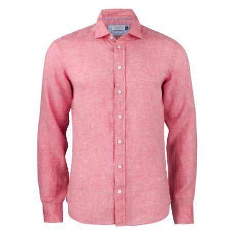 Camisa Falso Lino JAMES HARVEST INDIGO BOW 33 SLIM 2903302