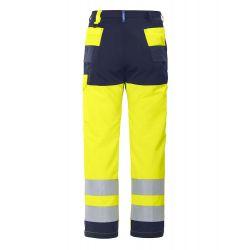 Pantalón de Trabajo Multibolsillos EN ISO 20471 CLASE 2 PROJOB 6501