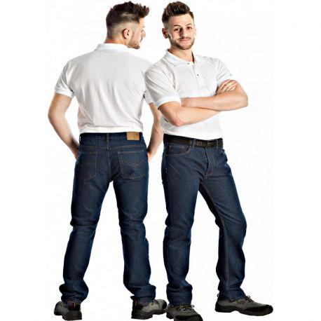 Pantalon vaquero de trabajo 5 bolsillos WORKTEAM B4003