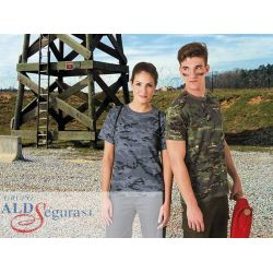 Camiseta Estampado Camuflaje SOLDIER
