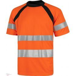 Camiseta Combinada Contraste Alta Visibilidad WORKTEAM C2941