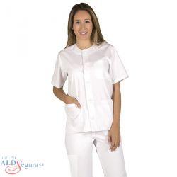 Blusa Botones de Sanidad Mujer 6088 MARTINA