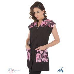 Blusa de Peluquería CORDÓN FLORES 5552