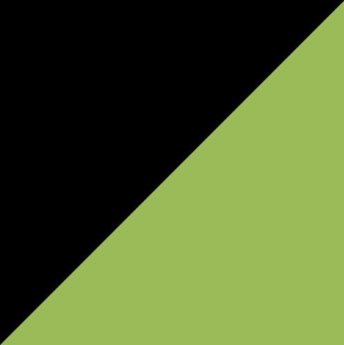 Negro/Verde Lima